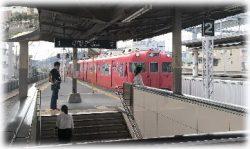 名鉄三河線蒲郡駅